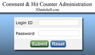 PHP Comment & Hit Counter System