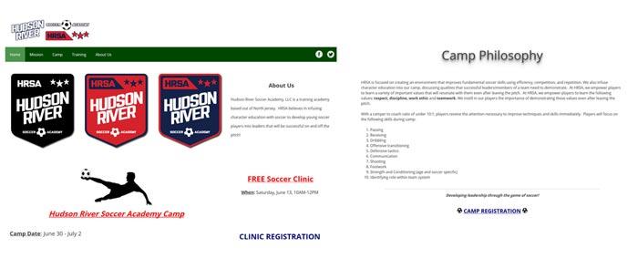 Hudson River Soccer Academy