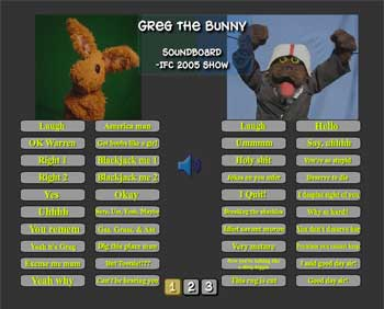 greg the bunny soundboard